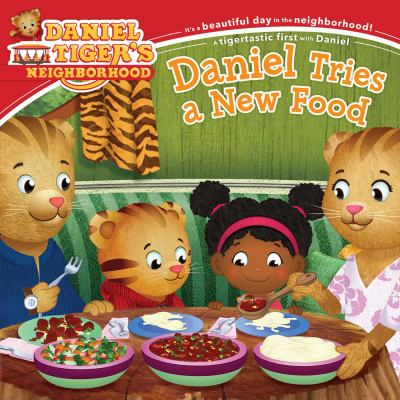 Cover image for Daniel Tries A New Food