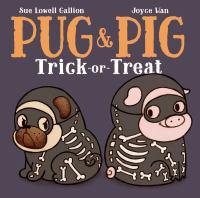 Pug & Pig Trick-or-treat