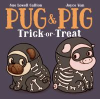 Pug & Pig Trick-or-treat
