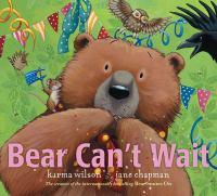 Bear can't wait