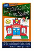 Just Conversations for ESL Students