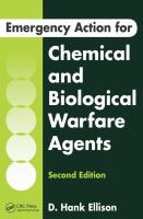 Emergency Action For Chemical And Biological Warfare Agents, Second Edition (Revised)