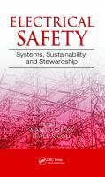 Electrical Safety: Systems, Sustainability, and Stewardship