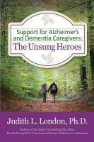 Support for Alzheimer's and Dementia Caregivers