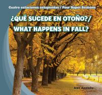 ¿Qué sucede en otoño?
