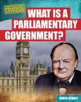 What Is A Parliamentary Government