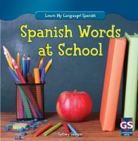 Spanish Words at School