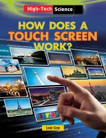 How Does A Touch Screen Work