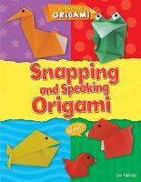 Snapping and Speaking Origami
