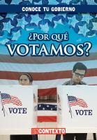 Por qué votamos?
