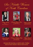 Six Notable Women Of North Carolina