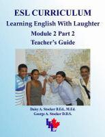 ESL Curriculum, Teen-adult Curriculum