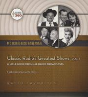 Classic Radio's Greatest Shows