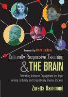 Culturally Responsive Teaching & The Brain (-)