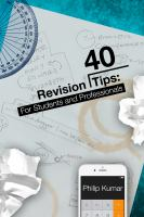 40 Revision Tips