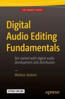 Digital Audio Editing Fundamentals