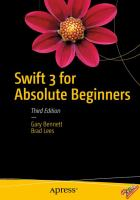 Swift 3 for Absolute Beginners, Third Edition