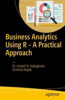 Business Analytics Using R