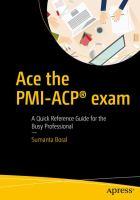 Ace the PMI-ACP Exam