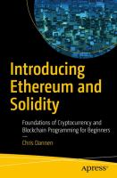 Image: Introducing Ethereum and Solidity