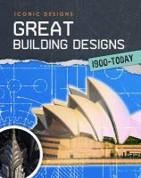 Great Building Designs 1900-today