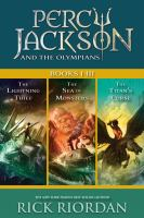 Percy Jackson and the Olympians, Books I-iii
