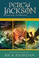 Percy Jackson and the Olympians, Books I-iii