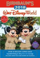 Birnbaum's 2018 Walt Disney World