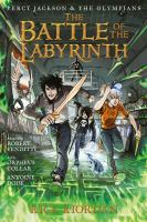 The battle of the labyrinth the graphic novel