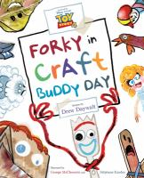 Forky in Craft Buddy Day