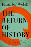 The Return Of History