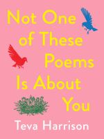Image: Not One of These Poems Is About You