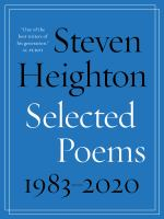 Selected Poems 1983-2020