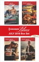 Harlequin Blaze July 2016 Box Set