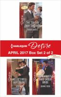 Harlequin Desire April 2017, Box Set 2 of 2