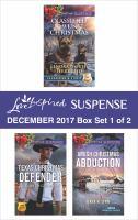 Harlequin Love Inspired Suspense December 2017--box Set 1 of 2
