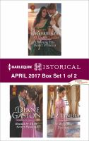 Harlequin Historical April 2017, Box Set 1 of 2