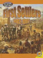 First Settlers, 1492-1607