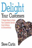 Delight your Customers