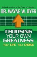 Choosing your Own Greatness