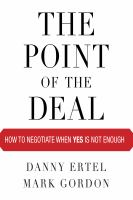 The Point of the Deal