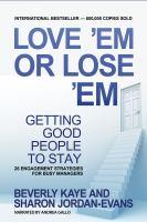 Love 'em or Lose 'em, Fifth Edition