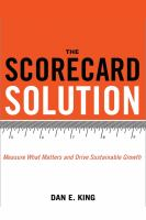 The Scorecard Solution