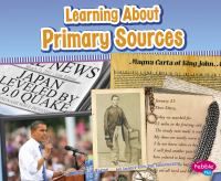 Learning About Primary Sources