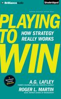 PLAYING TO WIN (CD)