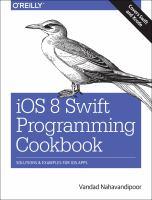 IOS 8 Swift Programming Cookbook