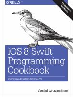 Ios 8 Swift Programming Cookbook