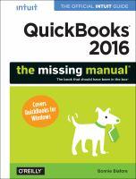 QuickBooks 2016
