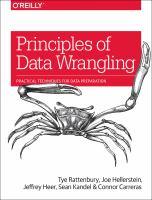 Principles of Data Wrangling