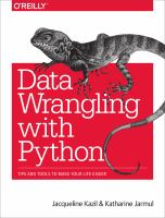 Data Wrangling With Python